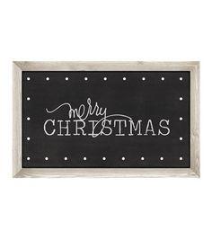 "Heidi Swapp Marquee Love Christmas Plastic Shape-Merry Christmas Chalkboard 21.5""X13.5"""