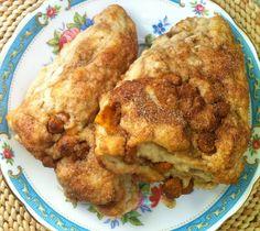 Easy Recipes: Brown Sugar Cinnamon Chip Scones | we heart this