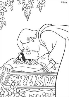 27 best Coloring Pages - Snow White images on Pinterest | Coloring ...