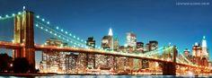 Nova Iorque Internship Usa, Capa Do Face, Cheap City Breaks, Manhattan Night, New York Theme, Beautiful Facebook Cover Photos, Facebook Timeline Covers, Best Cities, Brooklyn Bridge