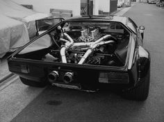 Insomnia.  De Tomaso Pantera (Panther). Ford 351 Cleveland V8