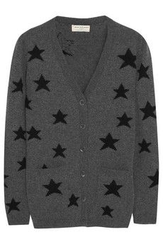 Someone buy this for me RIGHT. NOW. | Chinti and Parker Star intarsia wool cardigan | NET-A-PORTER