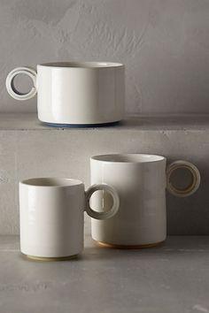 Color-Slipped Espresso Mug - anthropologie.com