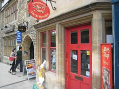 Alice's Shop, Oxford, England