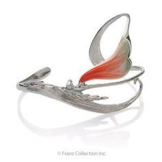 Franz Porcelain Dragonfly Bracelet