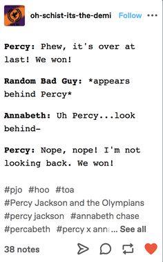 Percy Jackson Head Canon, Percy Jackson Ships, Percy Jackson Quotes, Percy Jackson Fan Art, Percy Jackson Books, Percy Jackson Fandom, Solangelo, Percabeth, Really Funny Memes