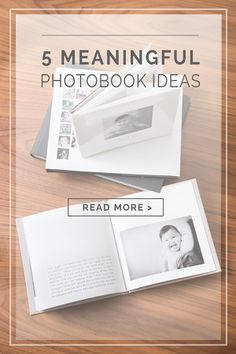 5 ideas to create meaningful photo books of your family. Includes a Blurb coupon for your photo books.