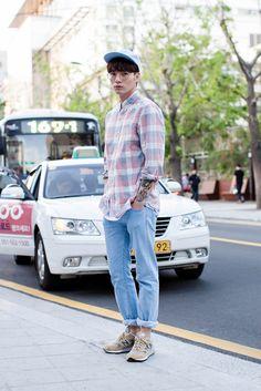On the street... Choi Jiwoon Busan ~ echeveau