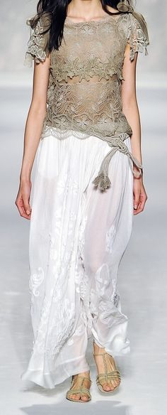 "Alberta Ferretti #gowns,✮✮Feel free to share on Pinterest"" ♥ღ www.FASHIONANDCLOTHINGBLOG.COM"
