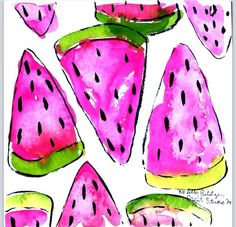 Sharing Slices, Lilly Pulitzer Print