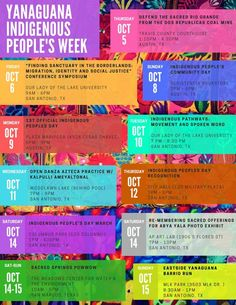 Recently in Texas, theYanaguana Indigenous People's Weekwas announced, a calendar of events celebrating indigenous roots across the territory. This is historic, given the history indigenous peoples in Texas. Six nations have imposed their flag upon the territory, which is part of an...