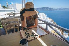 Santorini Travel Guide - Barefoot Blonde by Amber Fillerup Clark