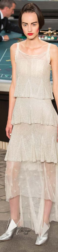 Chanel.          Fall 2015.            Couture.