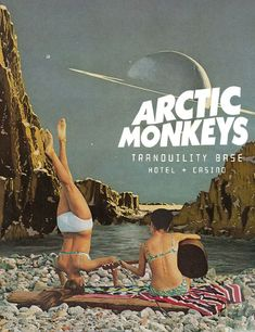 """veinsofmantra: """"Arctic Monkeys - Tranquillity Base Hotel & Casino album posters inspired by Leaf & Petal Design """" Bedroom Wall Collage, Photo Wall Collage, Wall Art, Band Posters, Cool Posters, Music Posters, Concert Posters, Poster Wall, Poster Prints"""