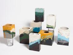 Studio Twocan ceramic vessel design.