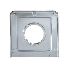2 Pack Range Kleen 102-AM 8 Inch Style A Series Chrome Range Stove Burner Drip Bowl Pan