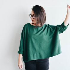 the t top in emerald by jamie and the jones