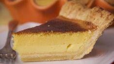 """""""Шахматный"""" лимонный пирог (Lemon chess pie). Пошаговый рецепт с фото на Gastronom.ru"""