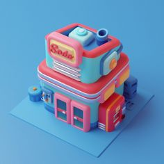 City Buildings, Toys, Kawaii Stuff, Artworks, Colors, Activity Toys, Colour, Games, Color