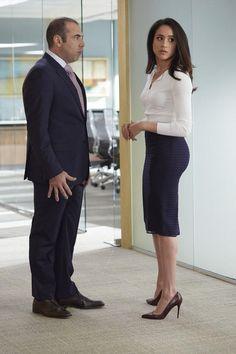 Louis & Rachel.  - Suits Season 5 Episode 7