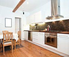 #Kitchen of the Day: Modern white kitchens.