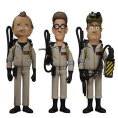 Ghostbusters Vinyl Idolz Figures.  Where the fuck is Winston?
