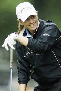 Retired Professional Golfer Annika Sorenstam
