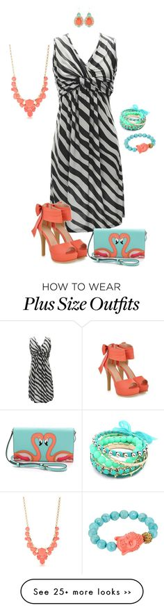 """Don't hide your shine- plus size"" by gchamama on Polyvore"