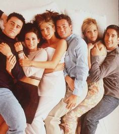 Once upon a time there were six young actors: Lisa Kudrow, Matthew Perry, Courteney Cox, David Schwimmer, Jennifer Aniston, and Matt LeBlanc.