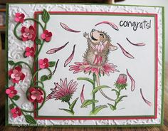 Congrats! card by Carol Longacre