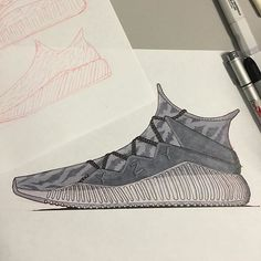 Quick /// Yeezy concept to go along with some thumbnails  #footweardesign #productdesign #industrialdesign #yeezy #adidas #adiporn