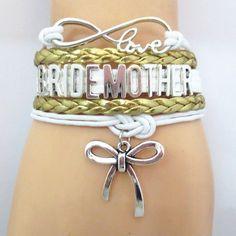 Infinity Love Gold Wedding Bracelets - 50% Off Sale