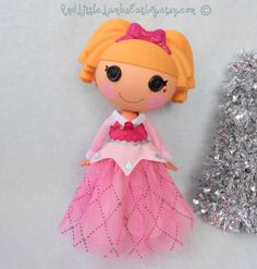Lalaloopsy Clothes  Sleeping Beauty / by AndLittleLambsEatIvy, $30.00