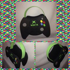 xbox controller inspired party bags by titaspartycreations