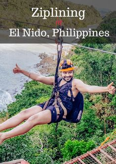 Have you ever thought about island hopping through ziplining? Well you can do both in El Nido, Philippines.