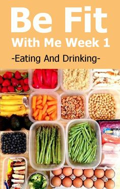 Be Fit With Me Week 1 – Eating And Drinking