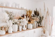 DRIED FLOWER BAR ... Restocked and looking AMAZING!! New varieties are available in store and have also been added to our website - happy flower shopping x