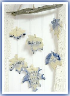 Memorial Wind Chime Personalized Family Tree by LaurelArts on Etsy