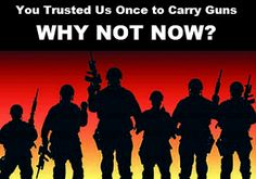 Will Congress Stop the Obama Administration from Disarming our Military Veterans? | Current Alerts