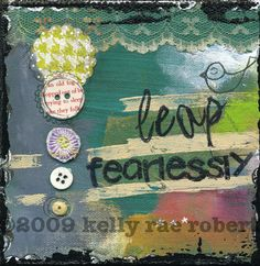 LEAP FEARLESSLY - Affirmation - Print