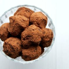 Raw vegan truffles with dried fruits and walnuts