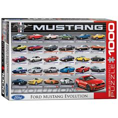 $19.99 Jigsaw Puzzle Ford Mustang Evolution 1000 Piece