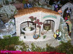 La crèche de Martine de Calais (1ère partie) - Santons et crèches de Provence