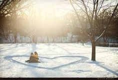 snow engagement photos - Google Search