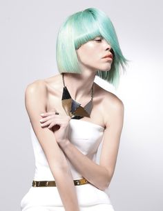 Some new color from Michael Levine! Hair Brained, Hair Color, Hairstyles, Dresses, Fashion, Hair, Colors, Coloring, Haircut Designs