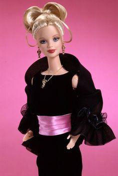 Pink & black Barbie