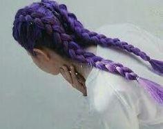 vibrant locks // hair // colour // hair dye // bright // aesthetic // grunge // pastel // purple #hairdye