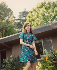 Lily Collins ❤️ for The Edit photograph by Stas Komarovski