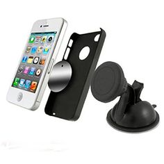 LowpriceniceTM Unisex Universal Magnetic Windscreen Car Phone Holder for Iphone5 5s Galaxys5 GPS -- Read more reviews of the product by visiting the link on the image. Note: It's an affiliate link to Amazon.