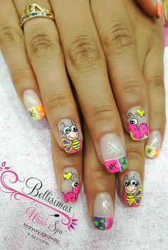 Ruby Nails, La Nails, Spring Nails, Summer Nails, Nail Arts, Manicure And Pedicure, Pretty Nails, Finger, Nail Designs